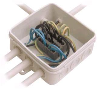 Электромонтаж, соединение электропроводов. Клемма Weidmuller.