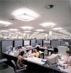 Построение офисного пространства.
