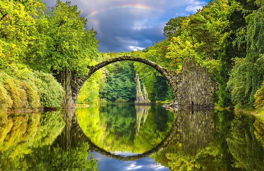Чертов мост (Кромлау, Германия)