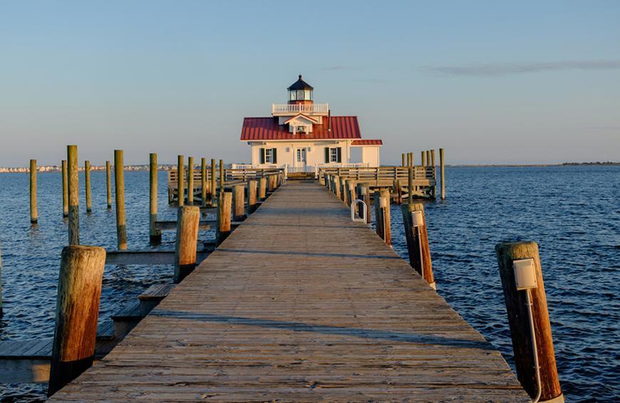 Остров Роанок, Северная Каролина