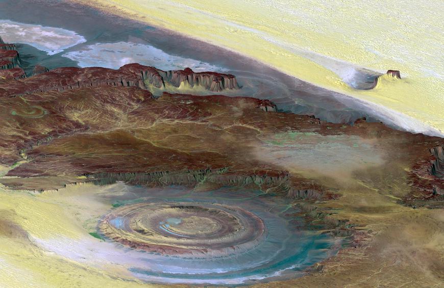 Структура Richat (Мавритания)