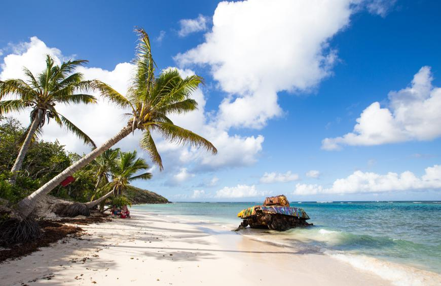 Пляж Фламенко (Кулебра, Пуэрто-Рико)