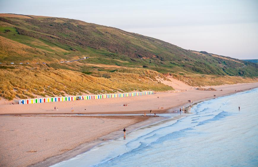 Пляж Вулакомб (Woolacombe, Англия)