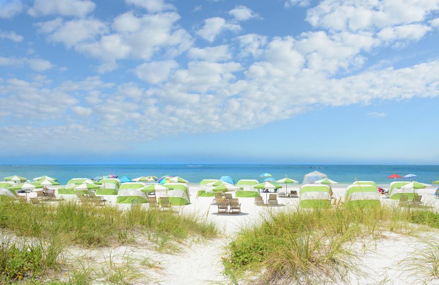 Пляж Клируотер (Clearwater, Флорида)