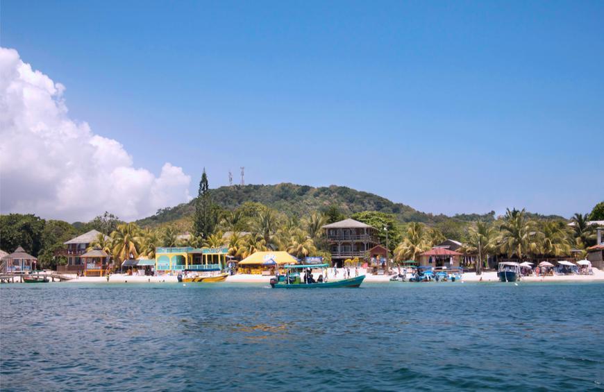 West Bay Beach (Роатан, Гондурас)