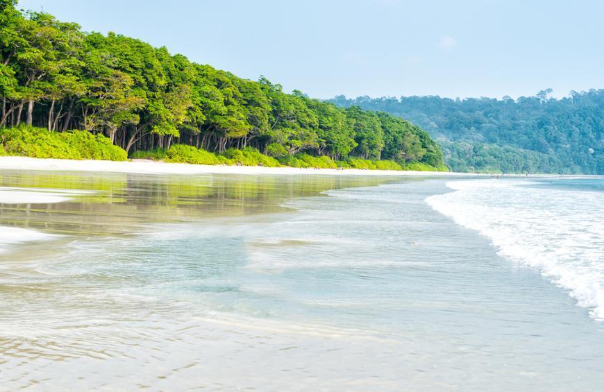 Пляж Радханагар (остров Хэвлок, Андаманские и Никобарские острова)